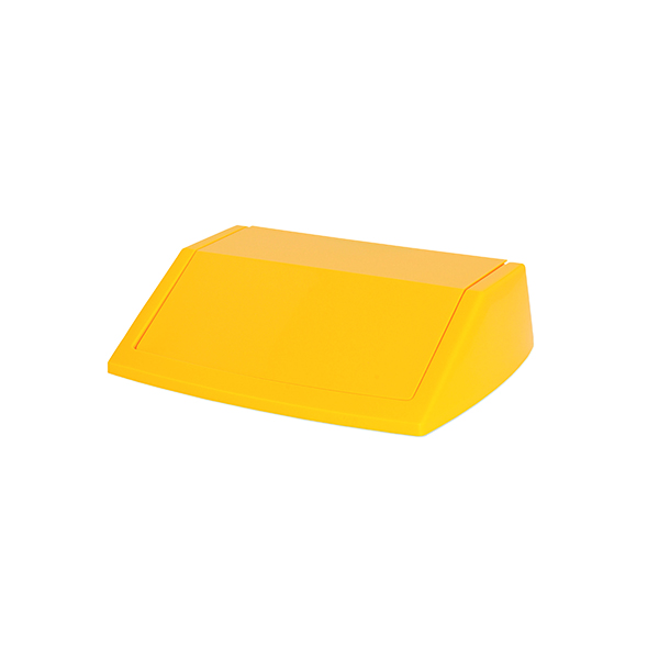 Addis 60 Litre Fliptop Bin Lid Yellow 512861