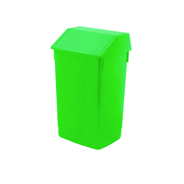 Addis Fliptop Bin 60 Litre Green