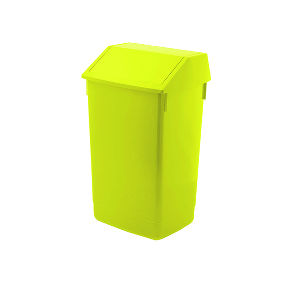 Addis Fliptop Bin 60 Litre Yellow