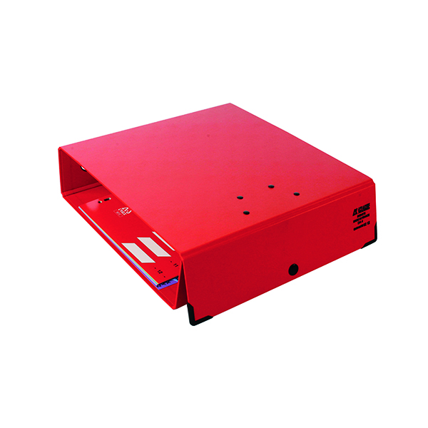 Arianex Double Lever Arch File A4 Red DA4R