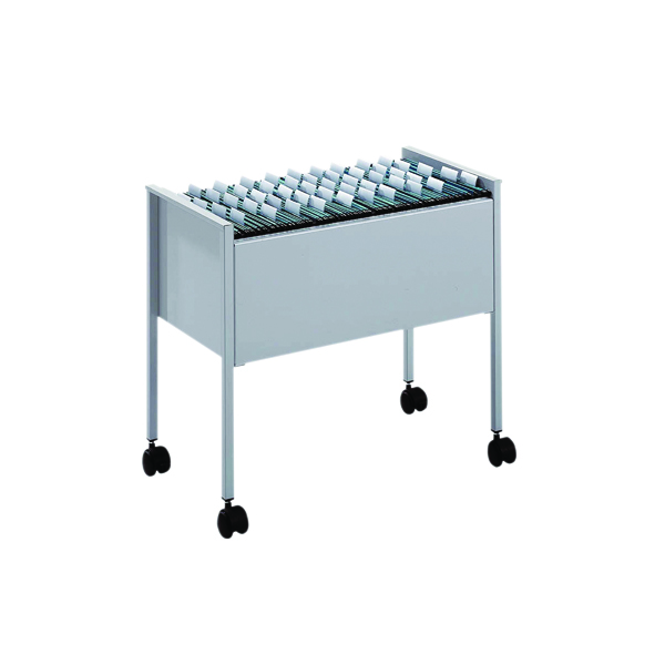 Image for Durable Suspension File Trolley, Foolscap, Grey 3097-10