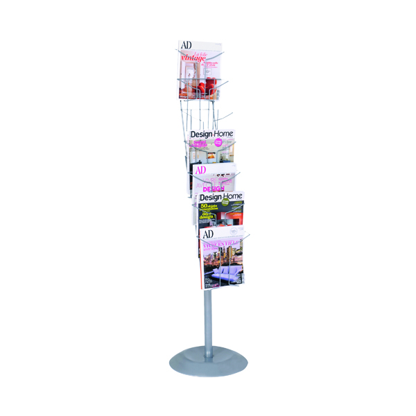 Alba 7 Pocket Literature Floor Display A4 DD7S