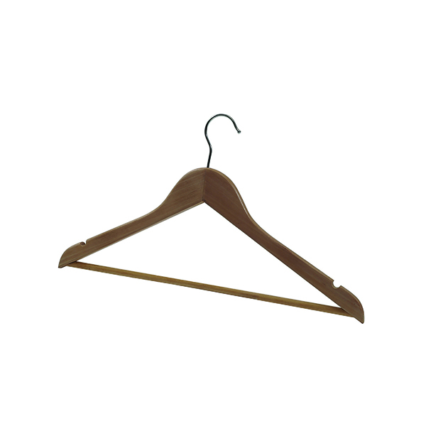 Alba Wooden Coat Hanger (Pack of 25) PMBASICBO