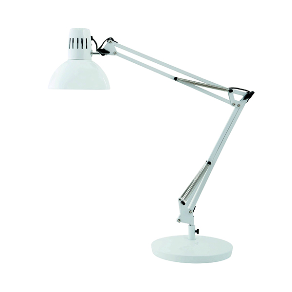Alba White Architect Desk Lamp ARCHI BC