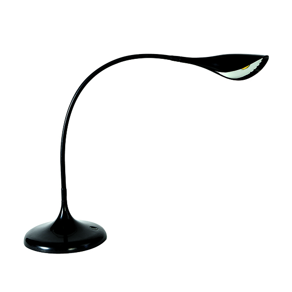 Alba Arum LED Desk Lamp Black LEDARUM N