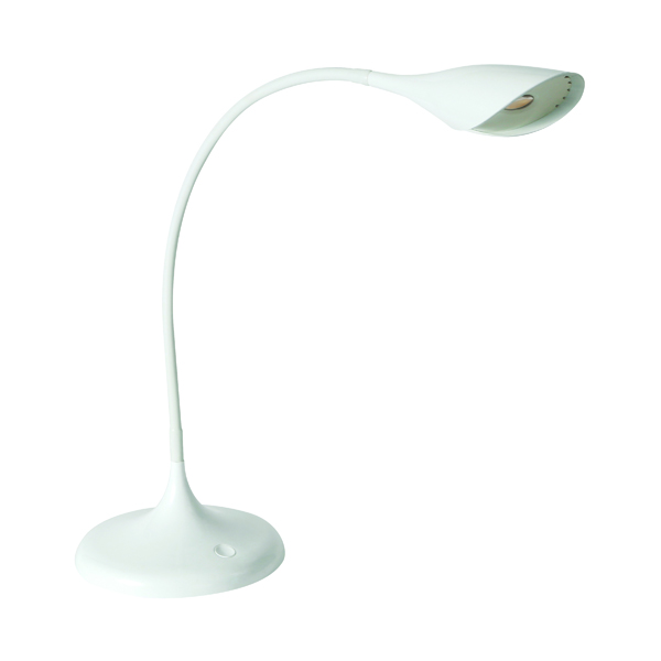 Alba Arum LED Desk Lamp White LEDARUM BC