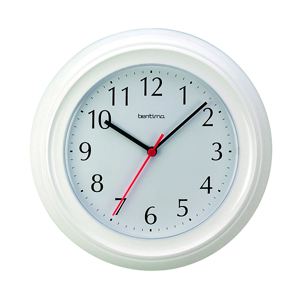 Image for Acctim Wycombe Wall Clock White 21412