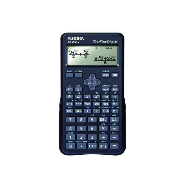Image for Aurora AX-595TV Scientific Calculator Black AX595TV