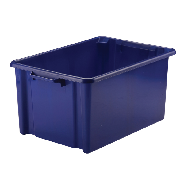 Strata 48.5L Jumbo Storemaster Box Blue HW048-Blue