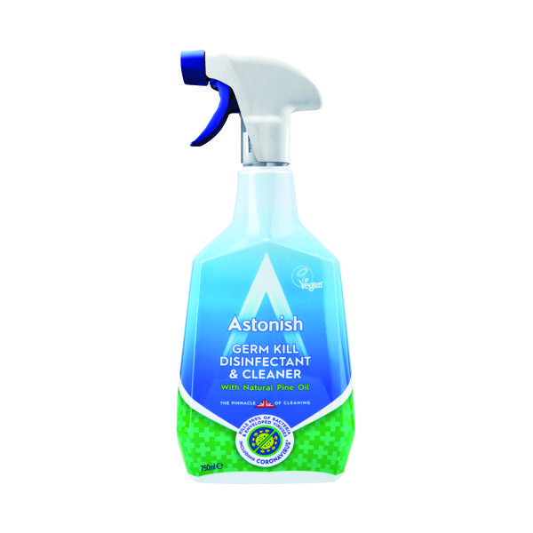 Astonish Germ Kill Disinfectant Spray 750ml Blue (Pack of 12)