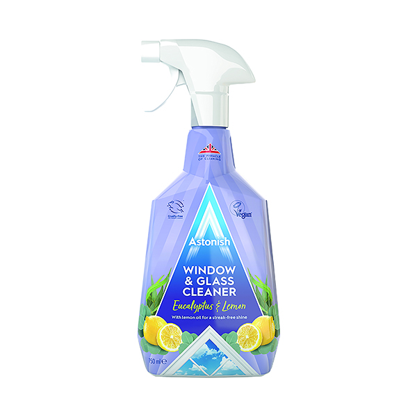 Astonish Window And Glass Cleaner 750ml Blue (Pack of 12)