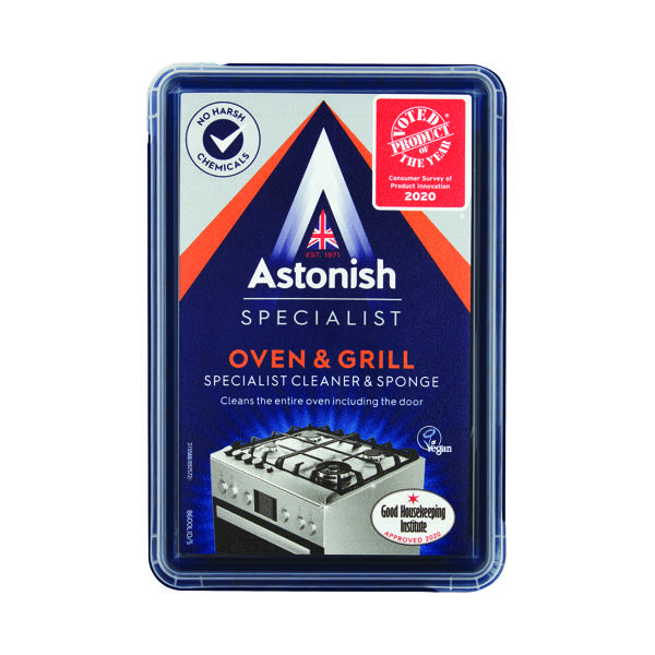Astonish Oven And Grill Cleaner 250g Black (Pack of 6)