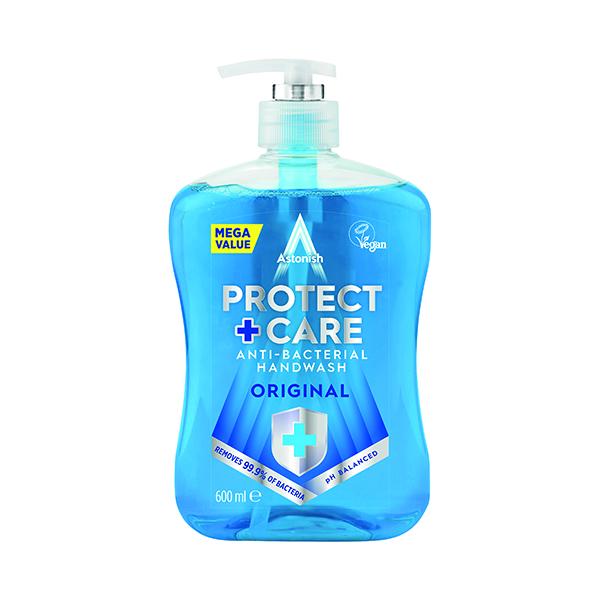 Astonish Clean Protect Antibac Handwash 650ml (Pack of 12)