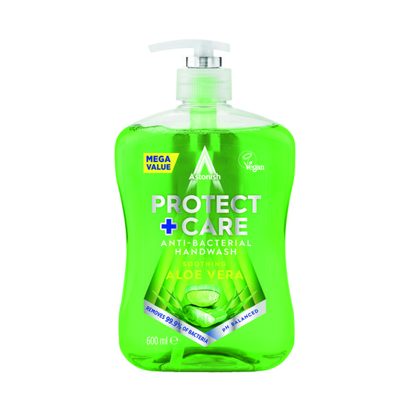 Astonish Anti Back Handwash 650ml AloeVera Green (Pack of 12)