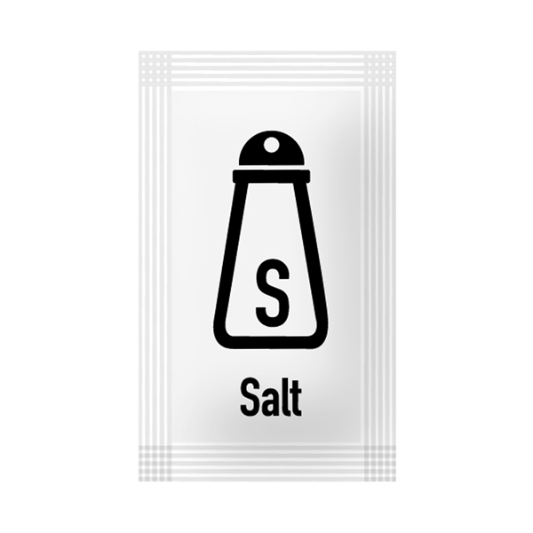 SS Salt Sachets (Pack of 2000) 60111314