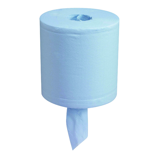 Image for Wypall L20 Centrefeed Wiper Roll Blue 7302