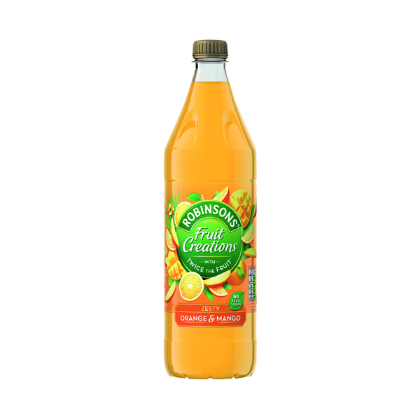 Robinsons Fruit Creations Orange and Mango 1L 0402120