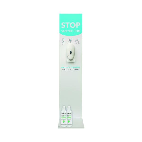 Buy Pack of 8 Freestanding Dispensers Get FOC 2 Cases 750ml Sanitiser