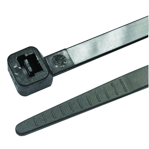 Image for Avery Cable Ties 140 x 3.6mm Black (Pack of 100) GT140ICBLACK