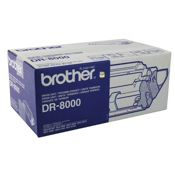 Image for Brother Fax 8070P Drum Unit (10,000 Page Capacity) DR8000