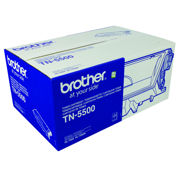 Brother HL-7050 Laser Black Toner Cartridge TN5500