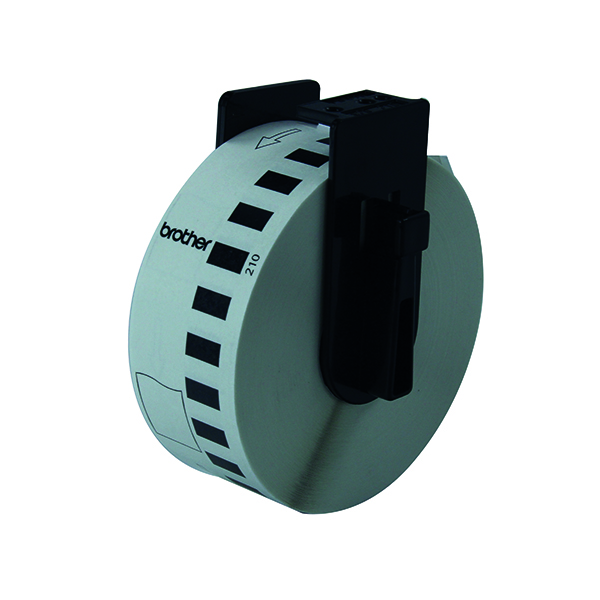 Brother Black on White Continuous Length Paper Tape 29mm DK22210
