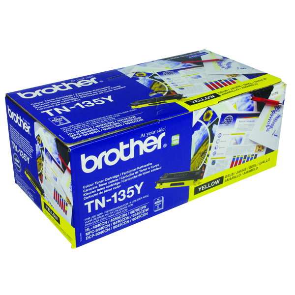 Brother Yellow Toner Cartridge High Capacity TN135Y
