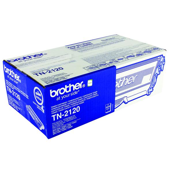 Brother TN-2120 High Yield Black Toner Cartridge TN2120