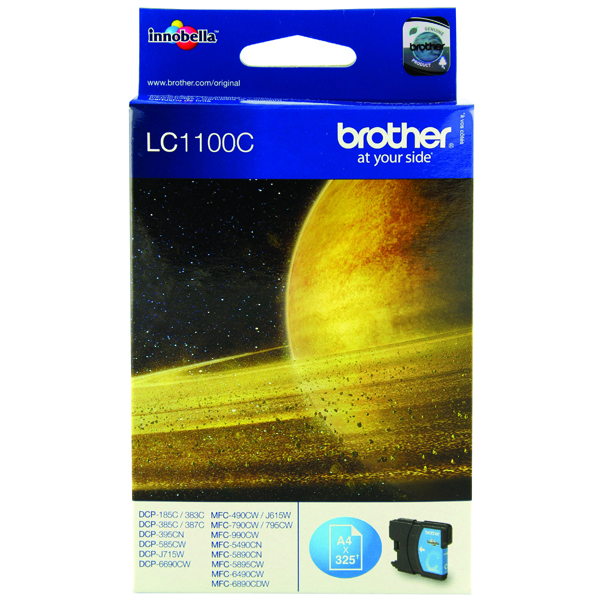 Brother LC1100C Cyan Inkjet Cartridge LC-1100C