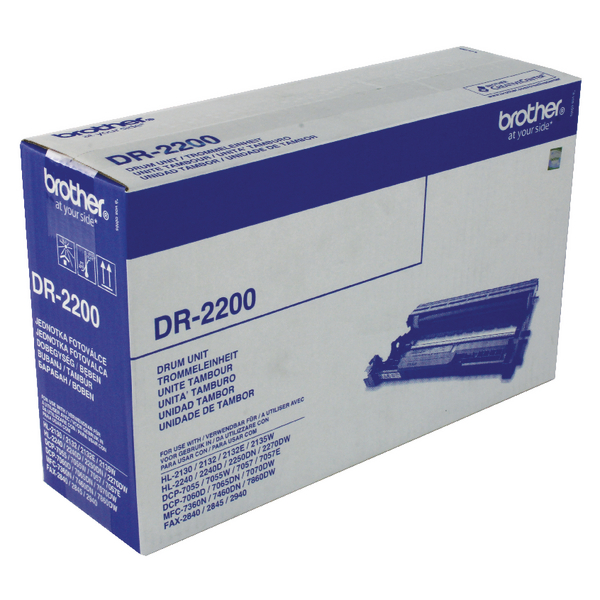 Brother HL-2240/D/2250DN/2270DW FAX-2940 Drum Unit 12K DR2200