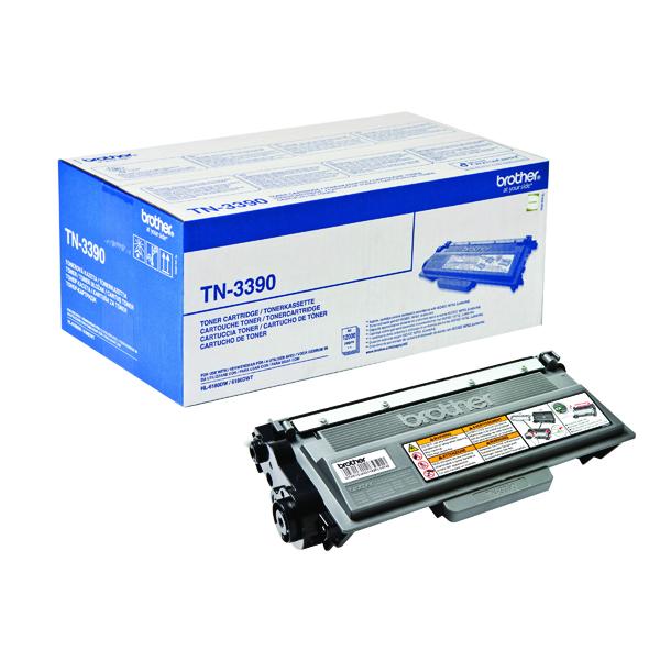 Brother Toner Cartridge Super High Yield Black TN3390