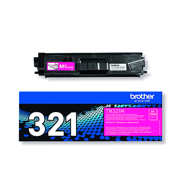 Brother Magenta Laser Toner Cartridge TN-321M