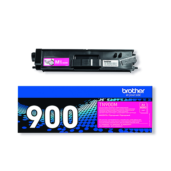 Brother TN-900 Magenta Super Toner Cartridge High Capacity TN900M