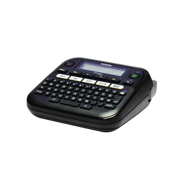 Image for Brother P-Touch PT-D210VP Desktop Label Printer Black PTD210VP