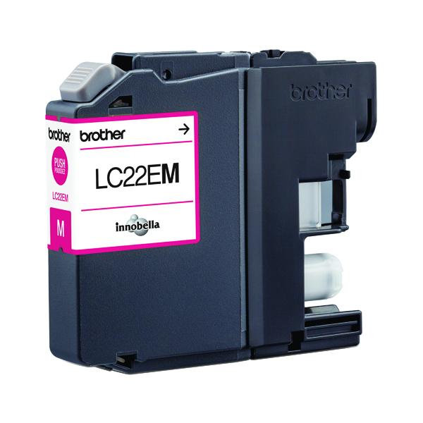 Brother Inkjet Cartridge Magenta LC22EM