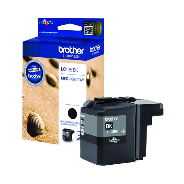 Brother Ink Cartridge Black LC12EBK