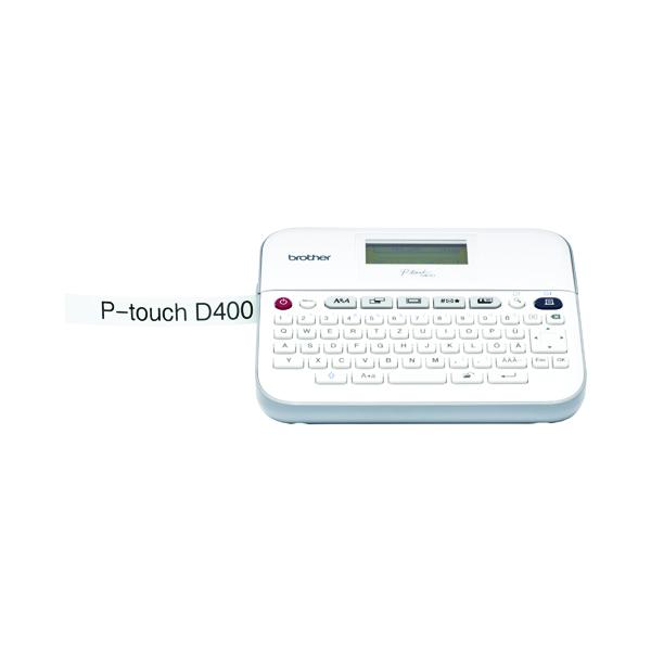 Brother P-Touch PT-D400 Professional Desktop Label Printer White PTD400ZU1