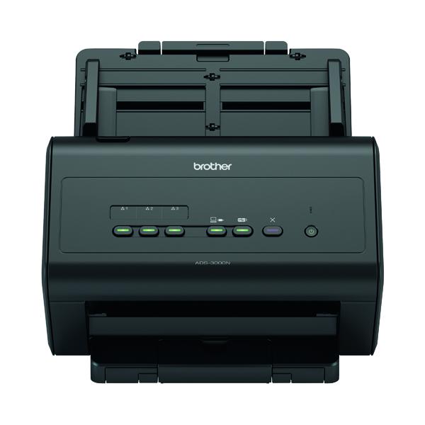 Image for Brother ADS-3000N High Speed Desktop Scanner ADS3000NZU1