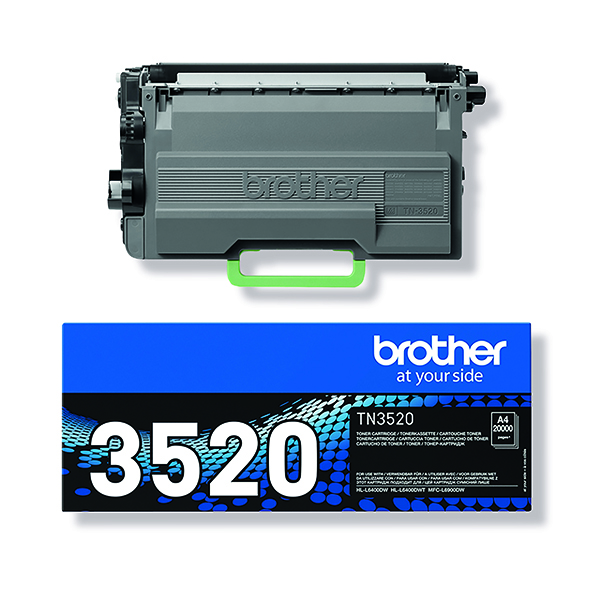 Brother ultra High Yield Toner TN3520 Page yield 20000