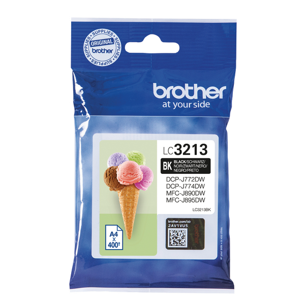 Brother Ink Cartridge High Yield Black LC3213BK