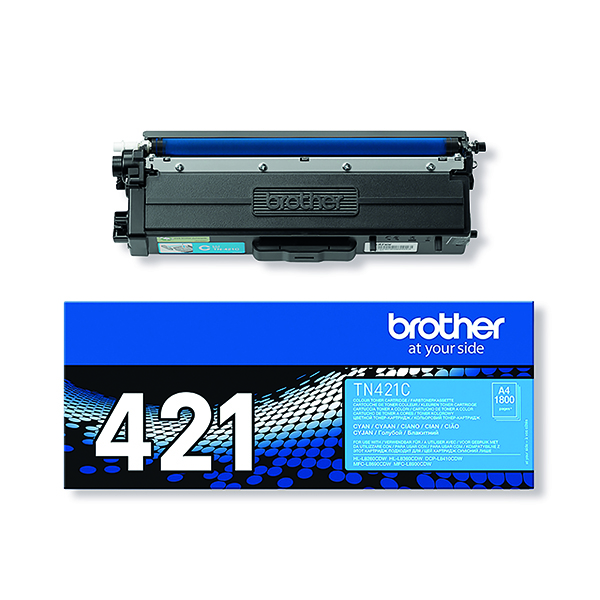 Brother TN421C Cyan Toner Cartridge TN421C