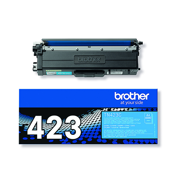 Brother TN423C Cyan High Yield Toner Cartridge TN423C