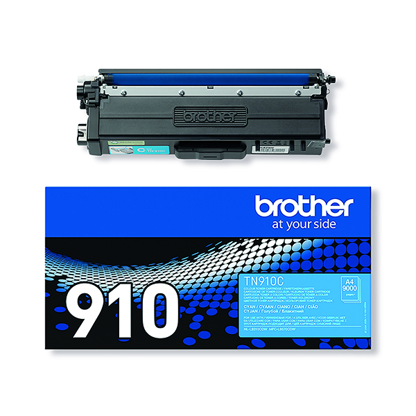 Brother TN910C Ultra High Yield Cyan Toner Cartridge TN910C