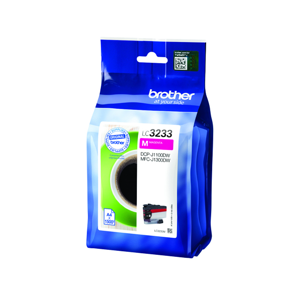 Brother Magenta High Yield Ink Cartridge LC3233M