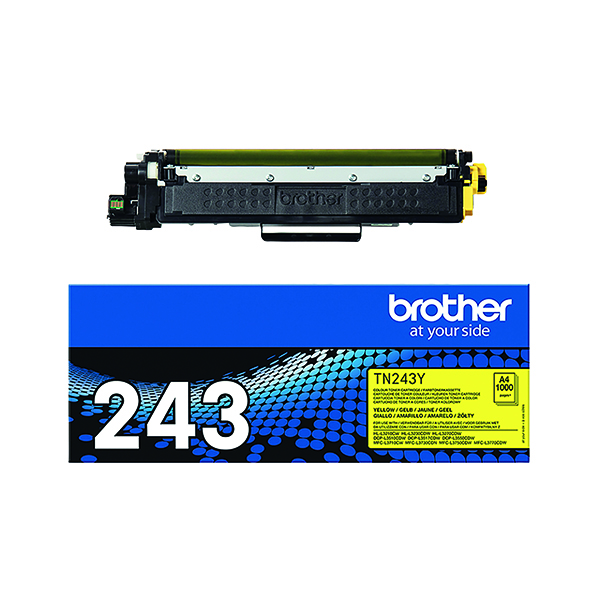 Brother TN-243 Yellow Toner Cartridge TN243Y