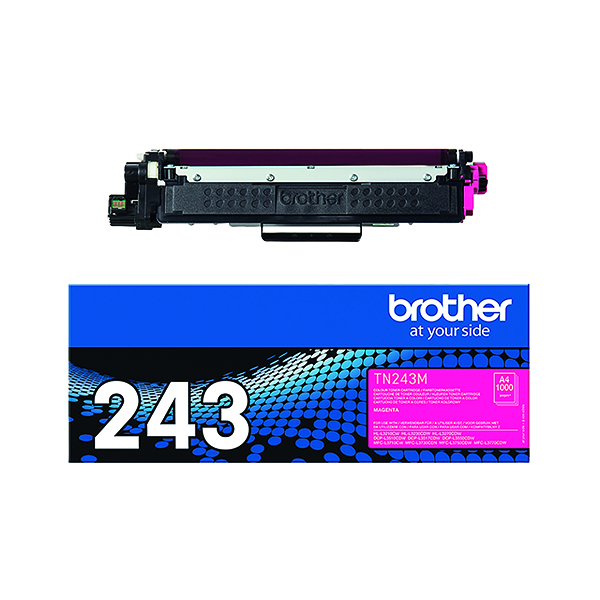 Brother TN-243 Magenta Toner Cartridge TN243M