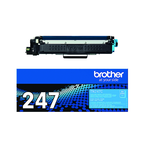 Brother TN-247C High Yield Cyan Toner Cartridge TN247C