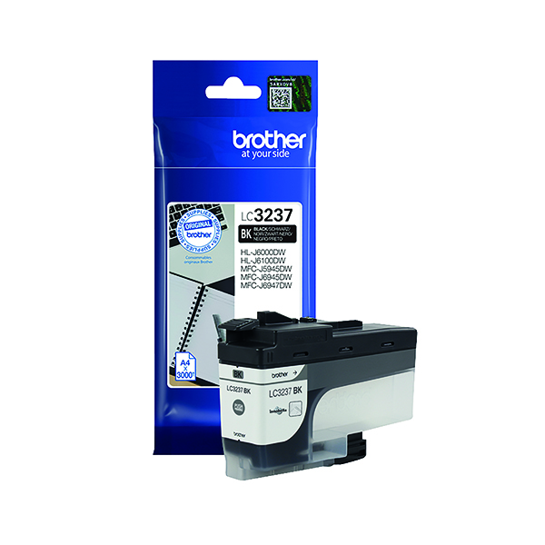 Brother LC-3237 Black Ink Cartridge LC3237BK