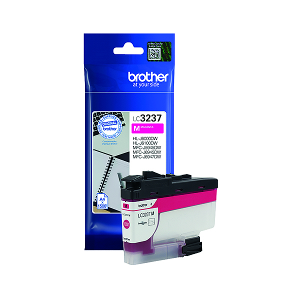 Brother LC-3237 Magenta Ink Cartridge LC3237M