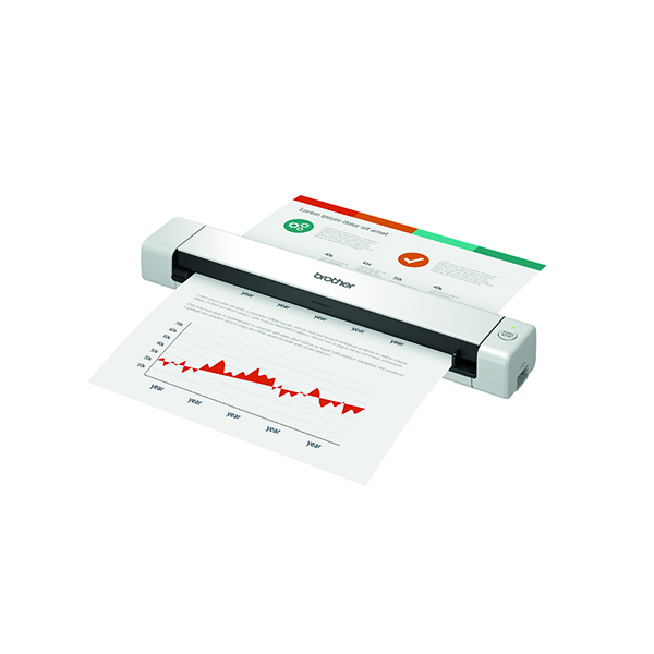 Brother DS-640 Portable Document Scanner  DS640TJ1